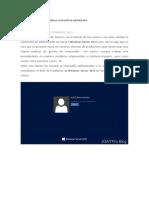 Restablecer Contraseña en Windows Server 2012