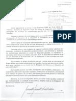 Carta Del Ministro Del Interior Al President Generalitat Catalunya