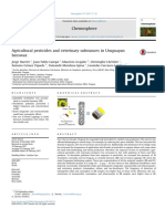 Agricultural Pesticides and Veterinary Substances in Uruguayan Beeswax