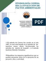 Metodología Conesa Impactos Ambientales.pptx