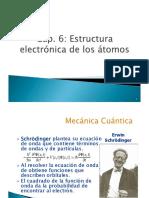Cap. 6 Estructura Electronica de Los Atomos Estudiantes