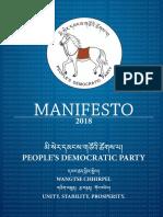PDP Manifesto 2018