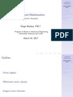 Week2 Vector Analysis 1