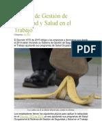Sistema de Gestión de Seguridad y Salud en El Trabajo (1)