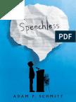 Speechless by Adam P. Schmitt Chapter Sampler