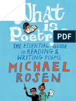 What Is Poetry? The Essential Guide to Reading and Writing Poems Chapter Sampler