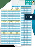 Rejilla Estaìndares y Competencias 11º (Versioìn Agosto 2014)