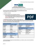 Perioperative Medication Management