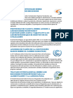 Convenios Ambientales de Bolivia