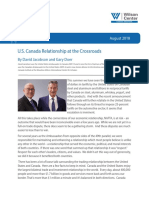 U.S. Canada Relationship at the Crossroads