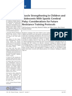 Muscle Strengthening in Children And