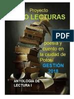 Antología de lectura de poesía