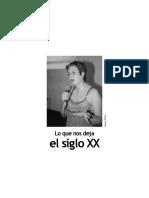 Lo que nos deja el siglo XX - Diana Uribe - Enero 2009.pdf