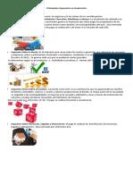 Principales Impuestos en Guatemala