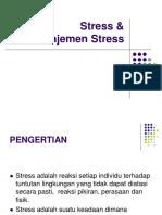 Stress Manajemen Stres