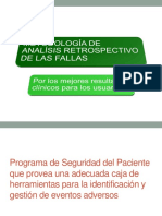 Analisis de Causa en Seguridad de Pacientes