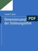 Dimensionsanalyse in Der Str Mungslehre