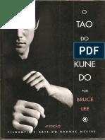 O Tao do Jeet Kune do - Bruce Lee