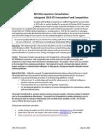 IF2019 Consultation