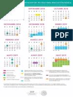 Calendario 195 2018-2019