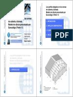 Diseño, cálculo y aplicación de perfiles conformados en frío según el eurocódigo 3