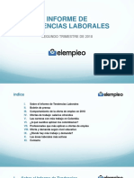Informe Tendencias Laborales 2 Trimestre 2018