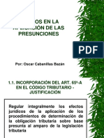 Presunciones Efectos 2005-1