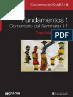 Fundamentos 1 Comentario Del Seminario 11 - Graciela Brodsky