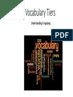 Vocabulary Tiers