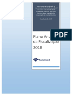 Receita Federal do Brasil - Plano Anual de Fiscalizacao 2018 e Resultados 2017
