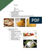 Usos de Almidones Modificados