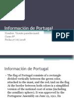 Imformacion de Portugal