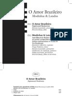 O Amor Brasileiro - Modinhas e Lundus CD.pdf