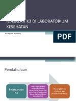 K3 Week 7 - Masalah k3 Di Lab