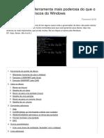 Diskpart Uma Ferramenta Mais Poderosa Do Que o Gerenciador de Discos Do Windows 17148 o323h9