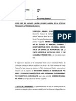 Demanda de Indemnizacion Florentino Acabada