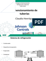 Dimensionamiento de Tuberías en Refrigeracion Industrial