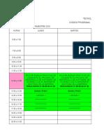 Horarios Grupos Automatizacion 2015 IV