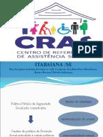 Apresentação CRAS 2018