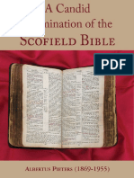 A CANDID EXAMINATION OF THE SCOFIELD BIBLE