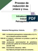 Proceso de Producción de Amoniaco y Urea.