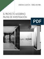 EL PROYECTO MODERNO PAUTAS DE INVESTIGACION.pdf