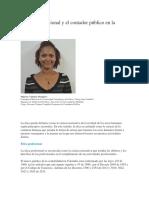 La Ética Profesional y El Contador Público en La Actualidad