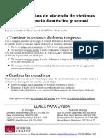 SHA Flyer Spanish