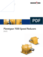 2507 Planetgear 7000 Speed Reducers Catalog