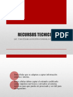 RECURSOS TECNICOS uap