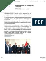 REPRESENTANTES DE UNIVERSIDADES DE EE.UU. Y CHILE VISITAN ASAMBLEA NACIONAL DE RECTORES