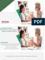 AULA IPOG - Atenção e Funcao Executiva