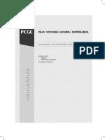 PCGE Plan Contable General Empresarial 2018