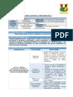 Planificación de La Unidad Didáctica 4 III Bimestre Basadre 13-08-2018